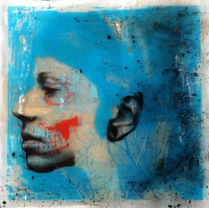 Selfportrait Blue